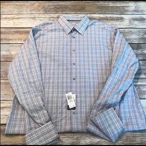 Calvin Klein dress shirt size 17 34/35. NWT